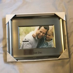 NWT Best Dad Picture Frame 4x6